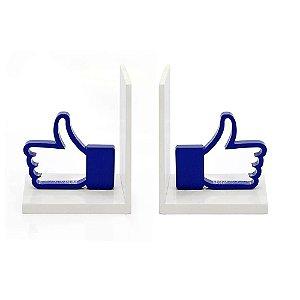 Suporte Aparador de Livros MDF Like Facebook