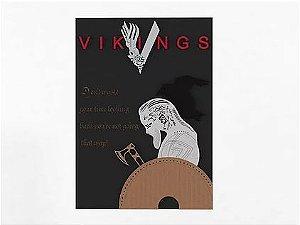 Quadro Decorativo MDF Alto Relevo Vikings