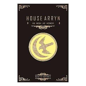 Quadro Decorativo MDF Alto Relevo Game of Thrones Arryn
