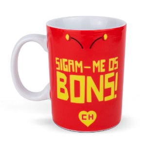 Mini Caneca de Cerâmica Chapolin Colorado 135ml