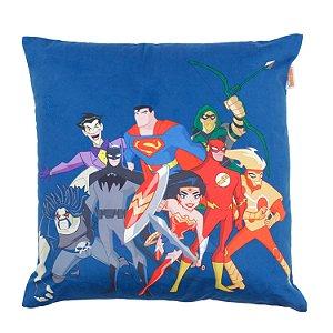 Capa de Almofada DC Comics Liga da Justiça 45x45cm