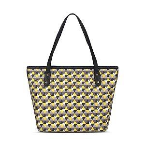 Tote Bag Feminina Disney Mickey Desenhos Geométricos