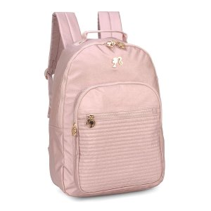 Mochila Feminina Notebook Barbie Metalizada