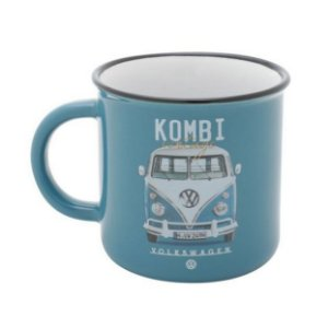 Caneca Porcelana VW Kombi Vintage 220ml