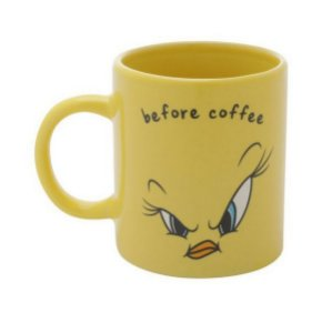 Mini Caneca Porcelana Looney Tunes Piu-Piu 140ml