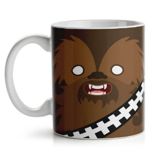 Caneca Geek Side Faces Chill Bacca 330ml