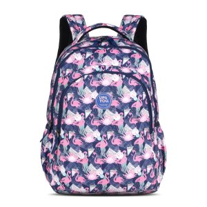 Mochila Feminina Notebook Up4you Flamingos Pink