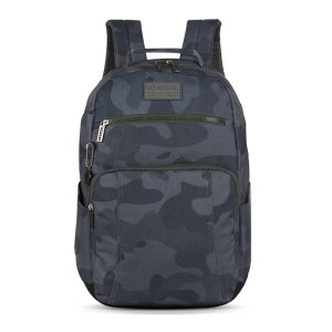 Mochila Masculina Notebook Up4you Camuflada Cinza