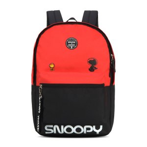 Mochila Feminina Escolar Up4you Snoopy Vermelha