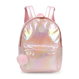 Mochila Feminina Up4you Barbie Pompom Rosa