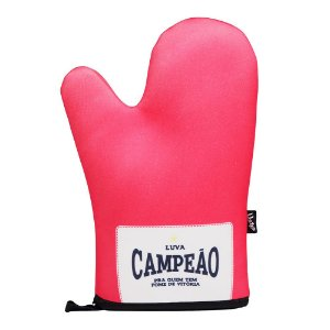 Luva Térmica de Cozinha Boxe Campeão Vermelha