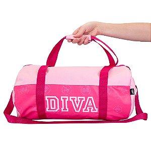 Bolsa Feminina para Academia Diva Pink