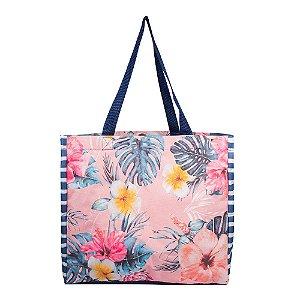 Bolsa de Praia Feminina Floral Vibe Boa
