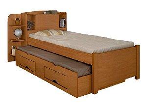 Cama Baú Milênio com cama auxiliar
