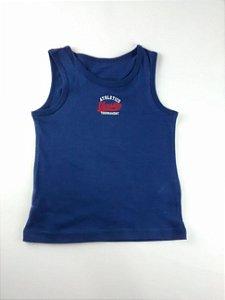 Regata Infantil Masculina Importada Azul Athletics Varsity