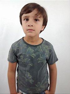 Camiseta Infantil Importada Zara Boys Carment Dye Coqueiros