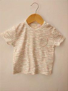 Camiseta Infantil Baby Zara Listras