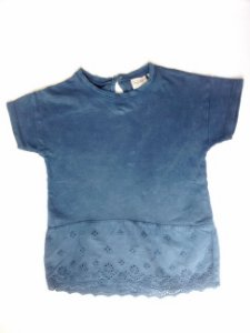 Blusa Infantil Zara Baby Bordado inglês