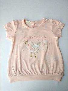 Blusa Feminina Bebê Importada Benetton Little Friends