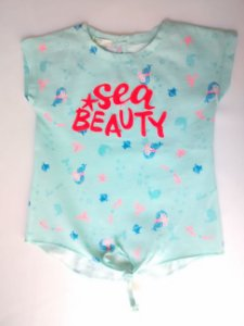 Blusa Bebê Benetton Baby Sereia