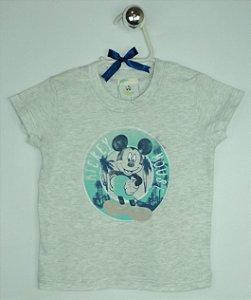Camiseta Benetton Disney Baby Mescla Pose Mickey Mouse