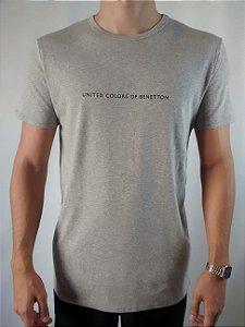 Camiseta Masculina Importada Baby Look Benetton Básica