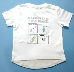 Camiseta Importada Zara Baby Boys Planes Join Life