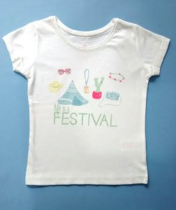 Blusa Infantil Feminina Festival Primark Importada