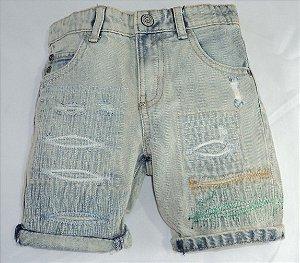 Bermuda Infantil Jeans Moderno Zara