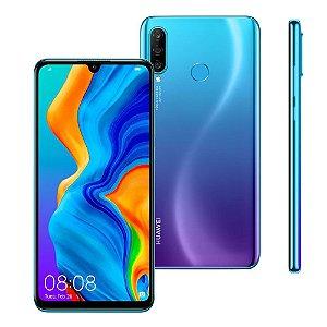 """Smartphone Huawei P30 Lite Blue 128GB, Dual Chip, Tela de 6.1"""", 4G, Câmera Traseira Tripla, Android 9.0, Processador Octa-Core e 4GB de RAM"""