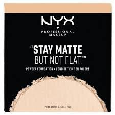 Pó Stay Matte But Not Flat Powder Foundation-Nyx