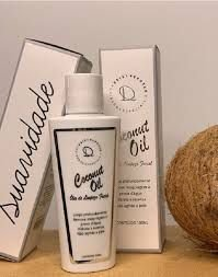 Òleo de Limpeza Facial Coconut Oil- Deisy Perozzo.