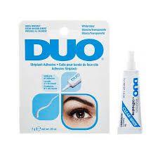 COLA PARA CÍLIOS POSTIÇO 7g  Eyelash Adhesive Clear-White - DUO