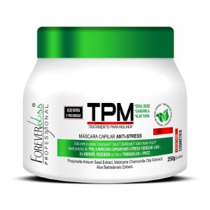 MÁSCARA TPM FOREVER LISS ANTI STRESS - 250G