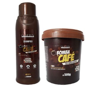 GLATTEN ESTIMULANTE PARA CABELO BOMBA DE CAFÉ