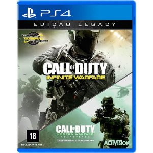 Call of Duty Infinite Warfare - Edicação Legacy com CoD MW - PS4