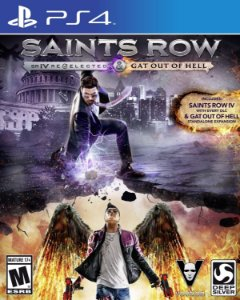 Saints Row IV Re-Elected + Gat Out Of Hell - PS4
