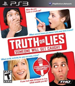 Truth or Lies (somente o jogo) - PS3