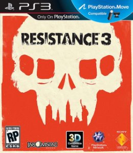 Resistance 3 - PS3 Semi Novo