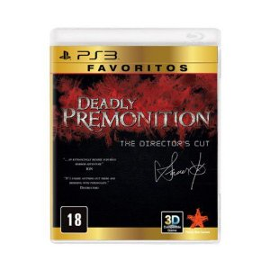 Deadly Premonition The Director's Cut - PS3