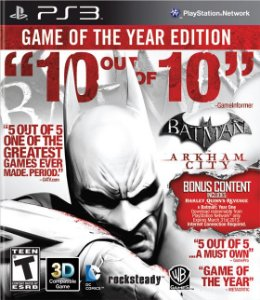 Batman: Arkham City Game of the Year Edition - PS3