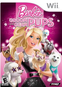 Barbie Groom And Glam Pups - Wii