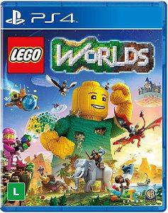 Pré-venda Lego Worlds - 25/03/2017 - PS4