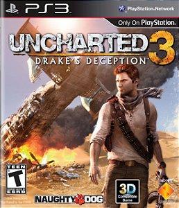 Uncharted 3: Drake's Deception - Ps3 Semi Novo