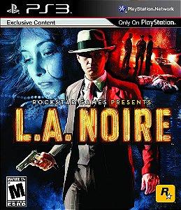 L.A. Noire - Ps3 Semi Novo