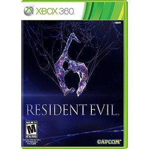 Resident Evil 6 -Xbox 360