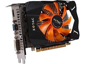 Placa de vídeo GTX 650 1GB - Seminova