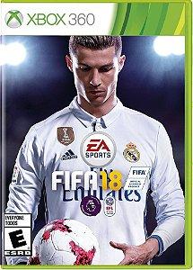 PRE- VENDA FIFA 18 - 06/10/2017 - XBOX 360