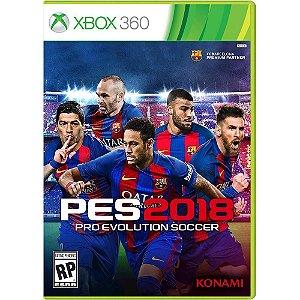 Pré-Venda PES 18 - Pro Evolution Soccer 12/09/2017 - Xbox 360