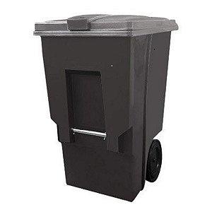 Carrinho coletor de Lixo 360 Litros sem pedal